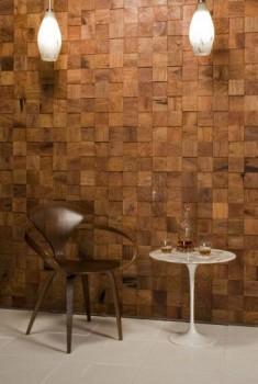 Drewniany panel ścienny