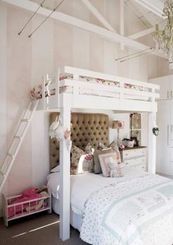 Ściana tapicerowana w pokoju dziecięcym