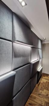 Ściany pikowane tapicerowane