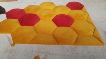 Kolorowe panele tapicerowane - Cocodeco Katowice