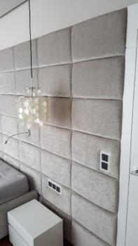 Panele tapicerowane beżowe - Cocodeco Katowice