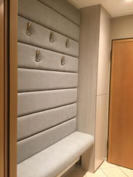 Panele tapicerowane beżowe - Cocodeco Katowice, Tychy