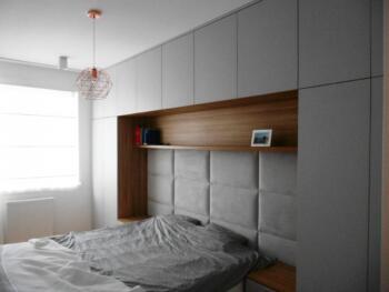 Panele tapicerowane przy łóżku - Cocodeco Tychy