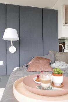 Panele tapicerowane w sypialni - Cocodeco Katowice