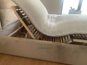 Stelaż łóżka z panelami tapicerowanymi - Cocodeco Katowice